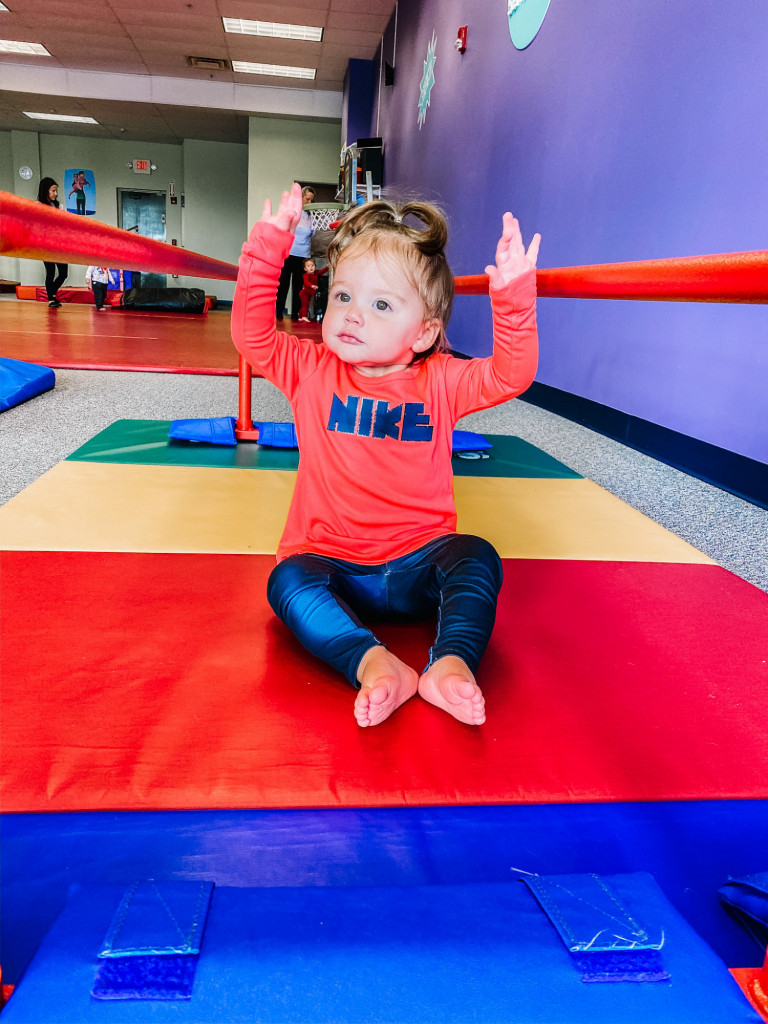 The Little Gym Benefits, Baby in Nike outfit