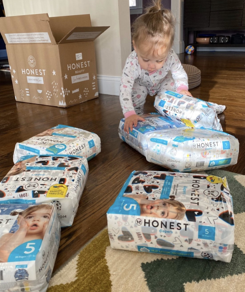 Delivery services make mom life easier, Honest Company Delivery