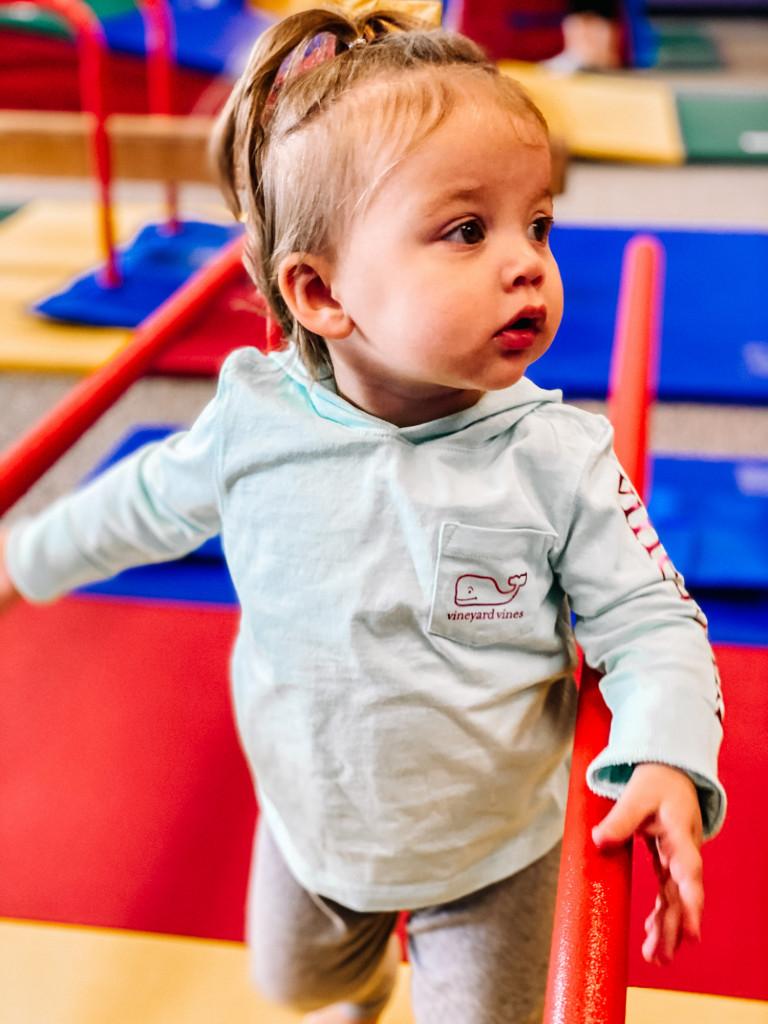 The Little Gym, Baby girl in Vineyard Vines