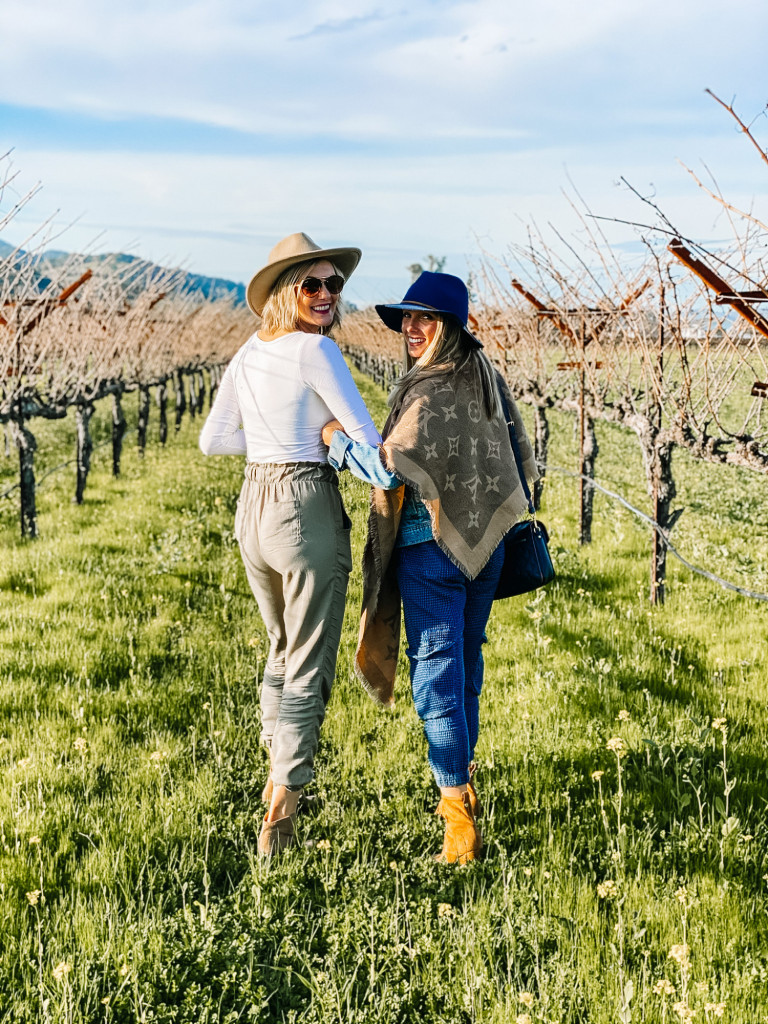 Napa Valley with girlfriends