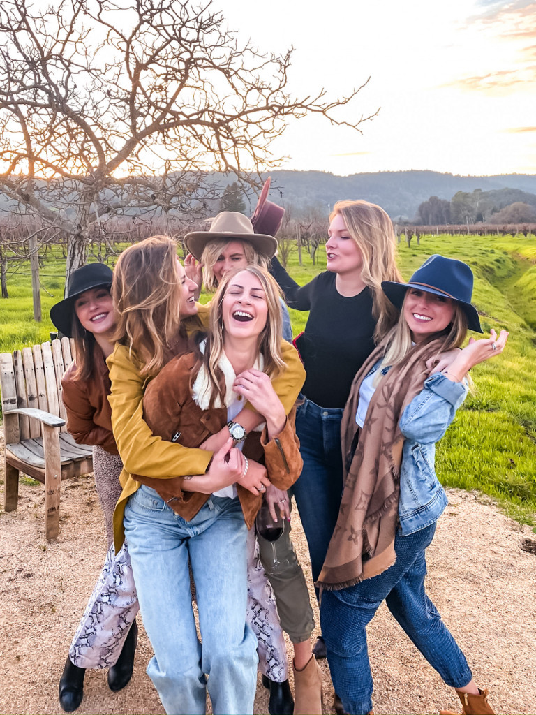 o'brien winery with girlfriends